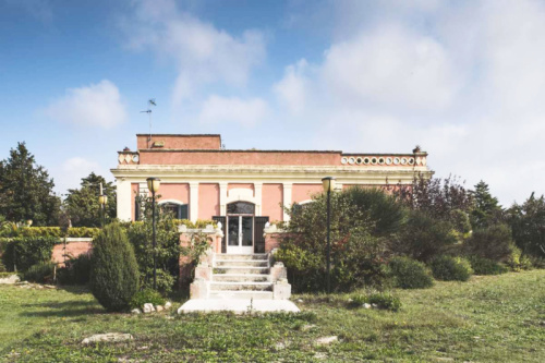Историческое здание в Матера