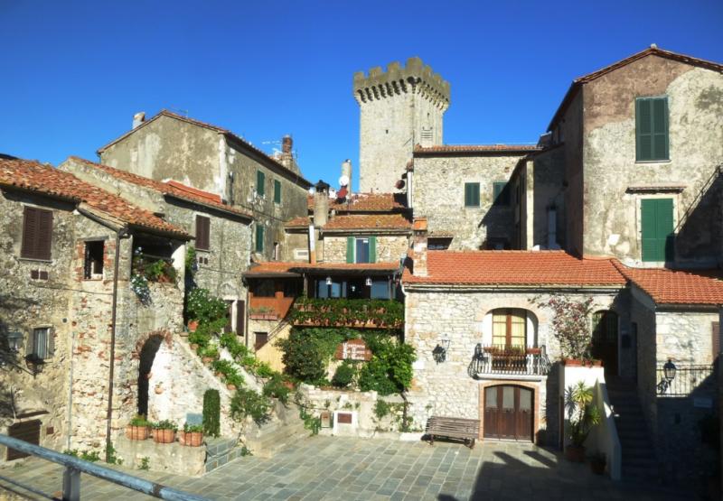 Appartamento storico a Capalbio