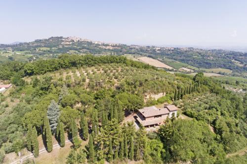 Lantställe i Montepulciano