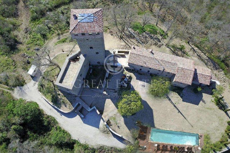 Castle in Passignano sul Trasimeno