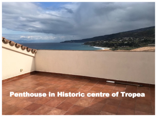 Historisch appartement in Tropea