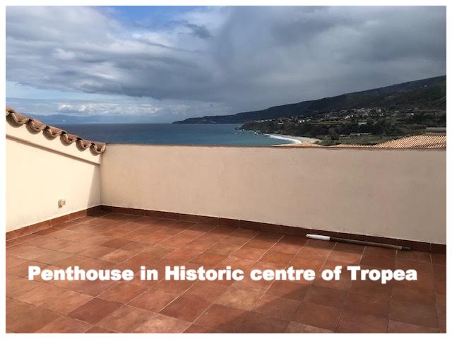 Apartamento histórico en Tropea