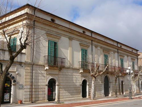 Historisch appartement in Genzano di Lucania