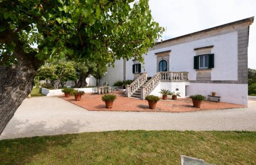 Masseria (lantgårdshus) i Ostuni