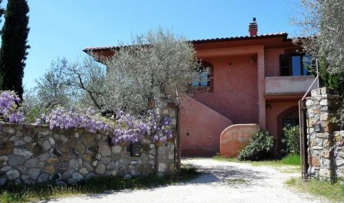 Hus på landet i Bolsena
