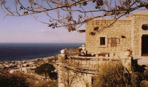 Casa histórica em Ísquia