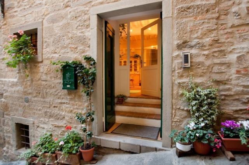 Eigenständiges Appartement in Cortona