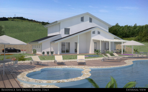 Country house in Rimini