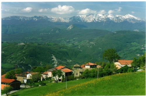 Kleines Dorf in Toano
