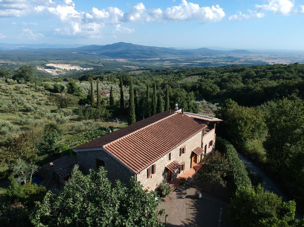 Casa di campagna a Roccastrada