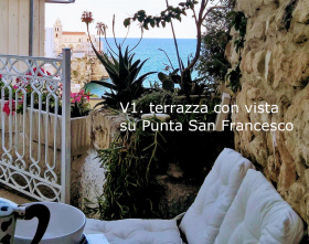 Self-contained apartment in Vieste