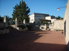 Masseria (lantgårdshus) i Altamura