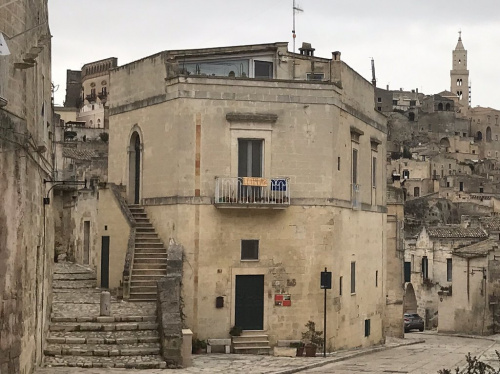 Palast in Matera