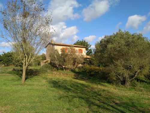 Hus på landet i Pitigliano
