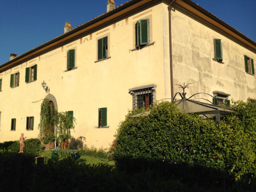 Historisches Appartement in Montespertoli