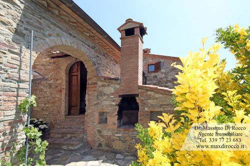 Semi-detached house in Cetona