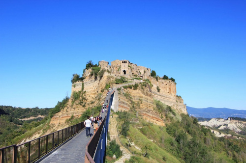 Top-to-bottom house in Bagnoregio