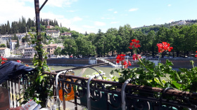 Takvåning i Verona