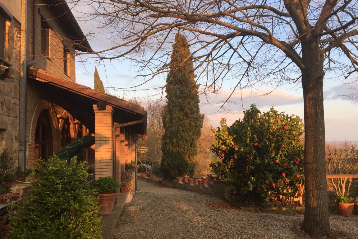 Villa a Civitella d'Agliano