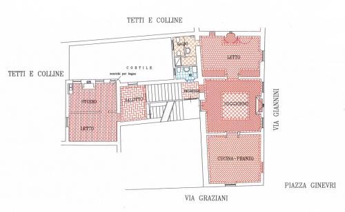 Lägenhet i Pergola