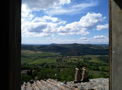 Self-contained apartment in Montepulciano