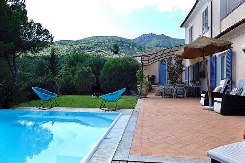 Villa a Campo nell'Elba