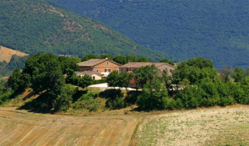 Historisches Haus in Fabriano