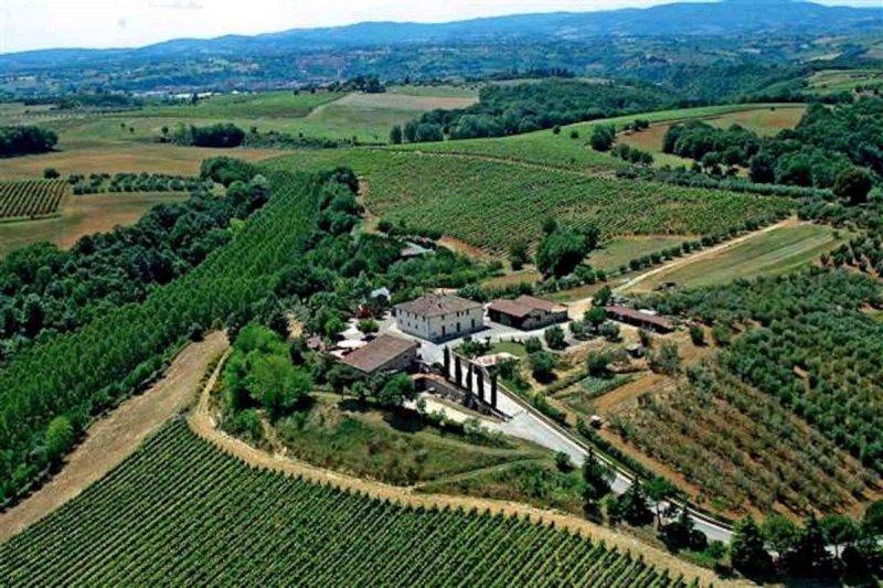 Quinta agrícola em Siena