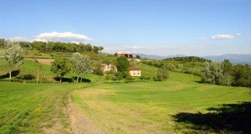 Hus på landet i Castel San Niccolò