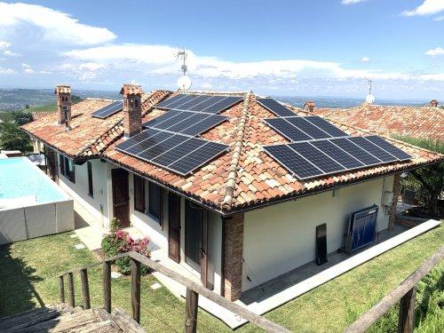Villa en Treiso
