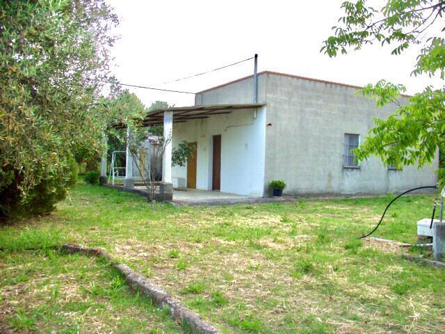 Hus på landet i Pisticci